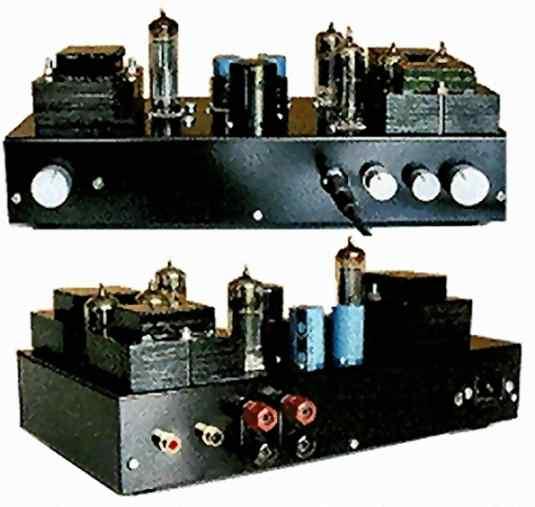 A SRPP-Input Tube Amplifier For Headphones And Loudspeakers