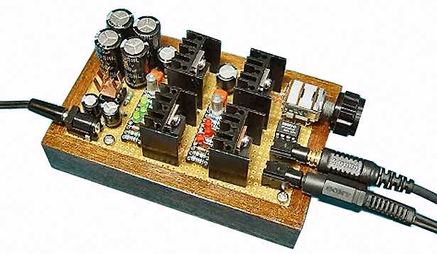 Low Distortion OPA2604 Opamp Driver Tube amp Inverted Push Pull Amplifier Board